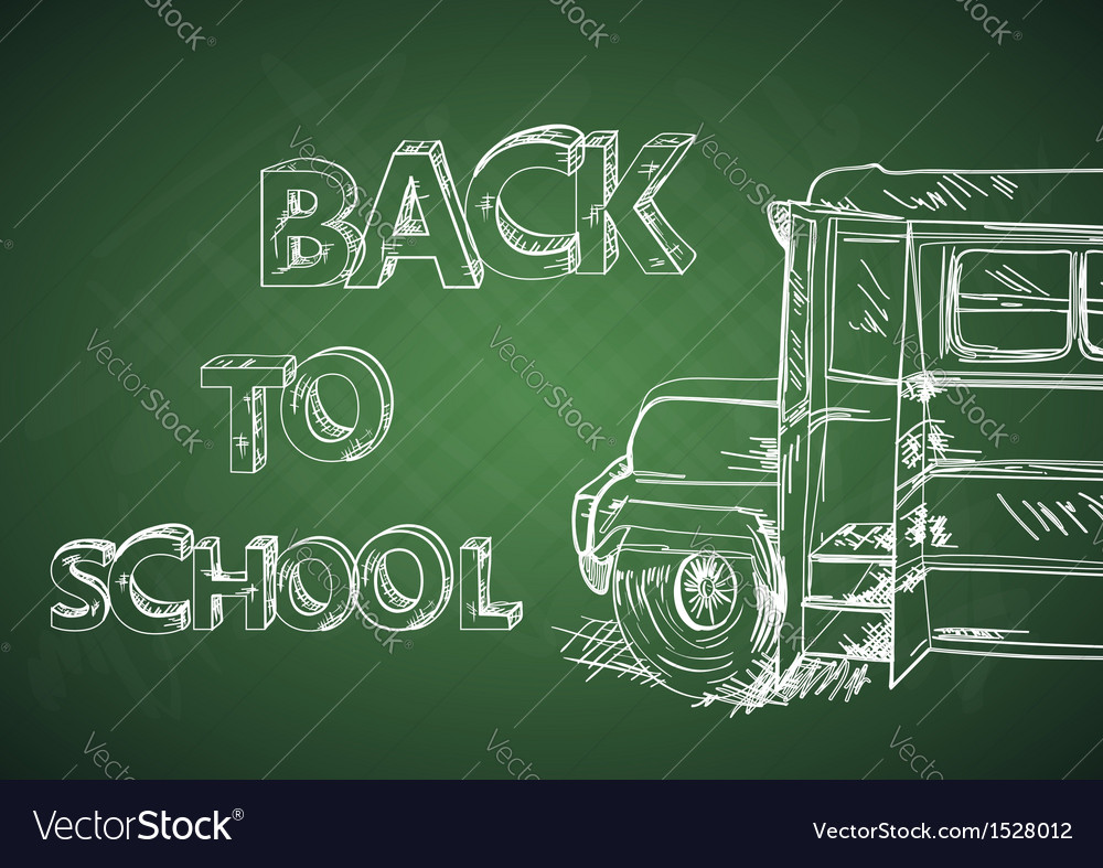 Education back to school bus