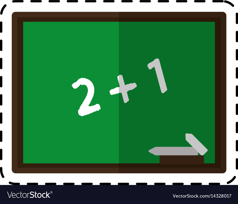 cartoon chalkboard class school chalk royalty free vector rh vectorstock com chalk vectors team chalk vector free download