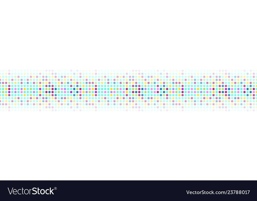 Colorful abstract shiny light circles web header