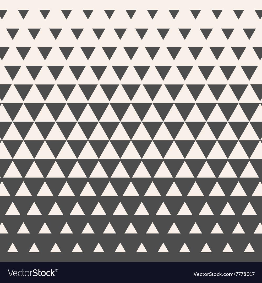 Triangles Vintage HalfTone Gradient Geometric