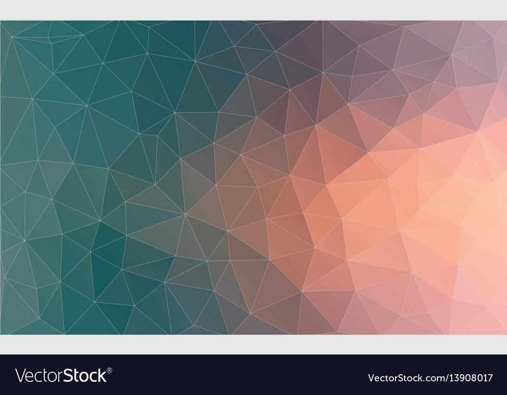 Vintage color geometric triangle wallpaper