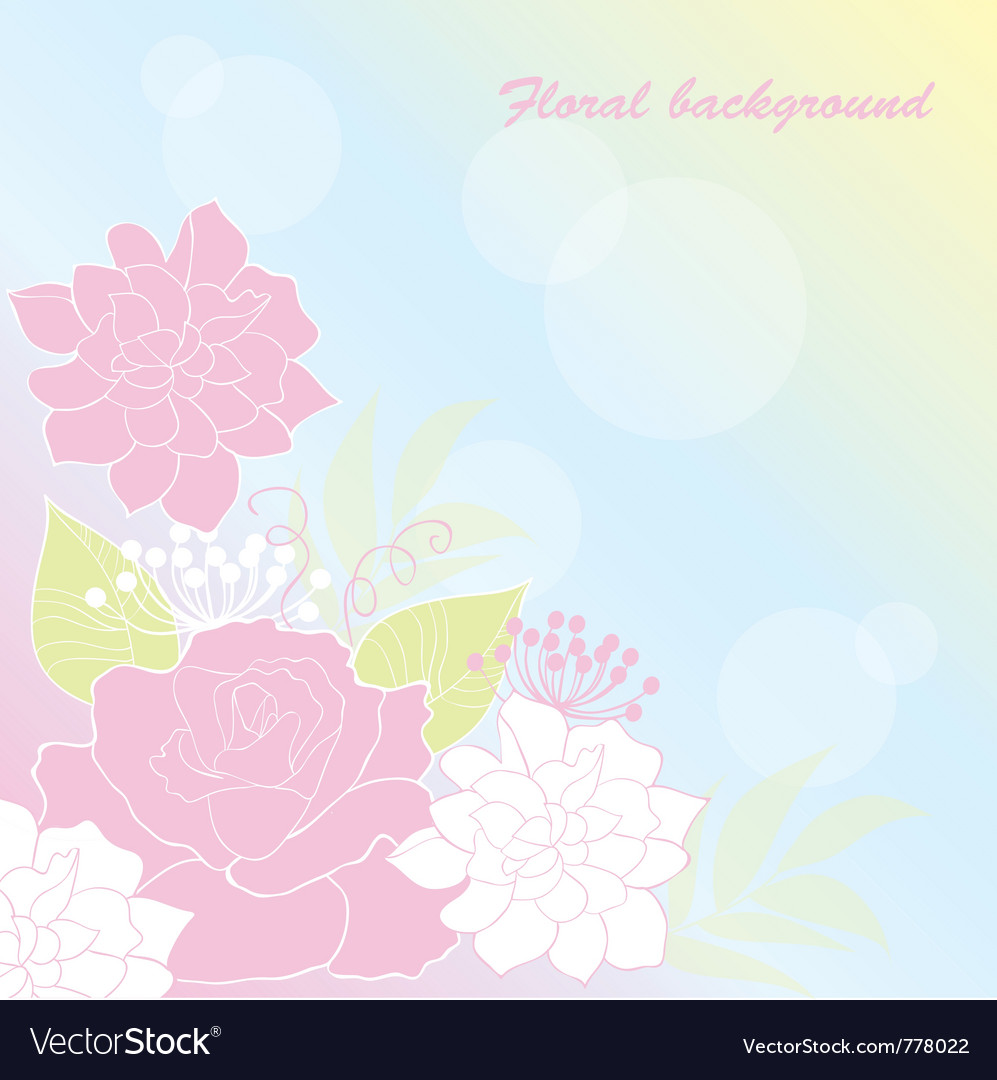 Background rose