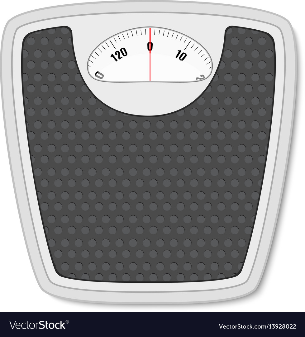 Weight Scale Royalty Free Vector Image