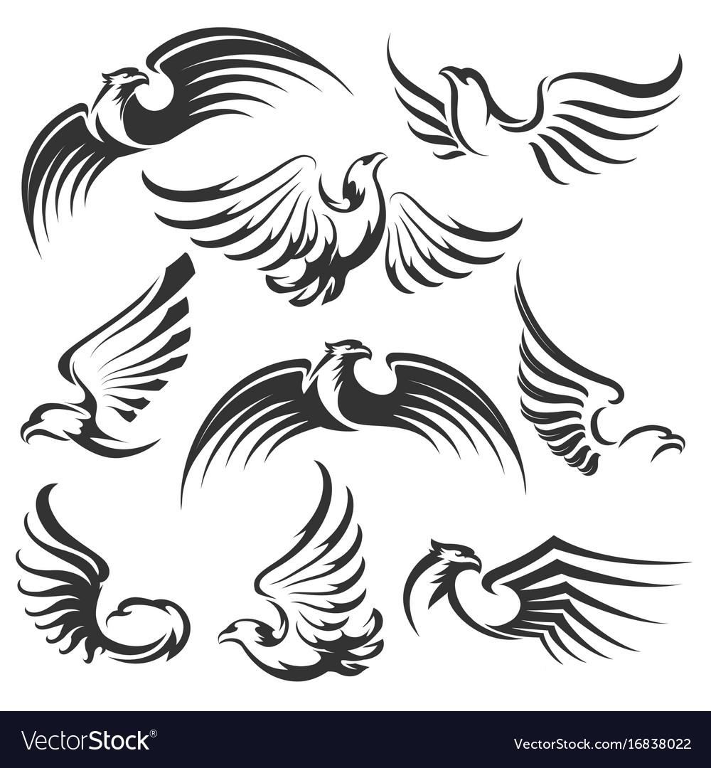 Eagle icon set