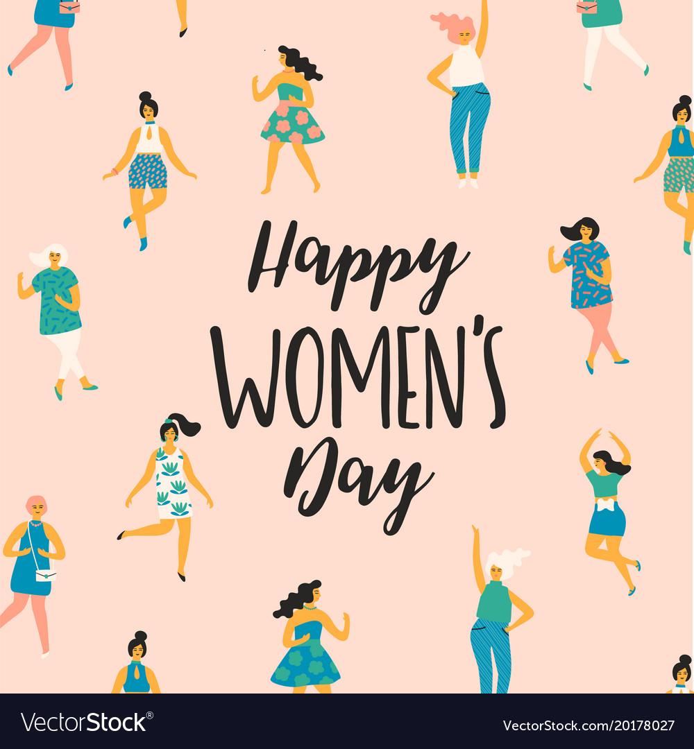 International womens day template