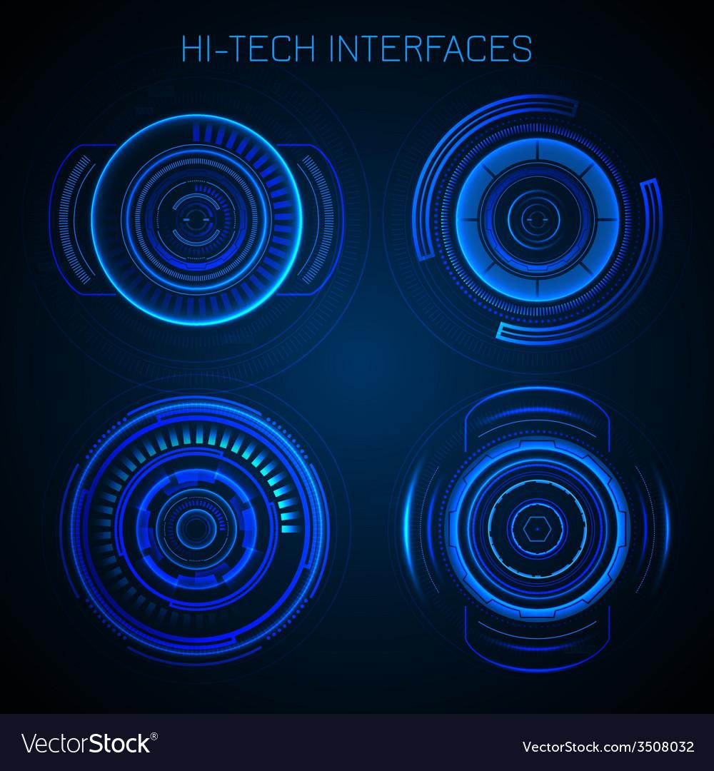 Futuristic Hud Interface