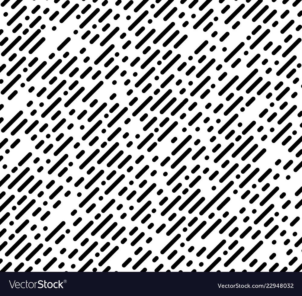Seamless chaotic pattern diagonal stripe and dots