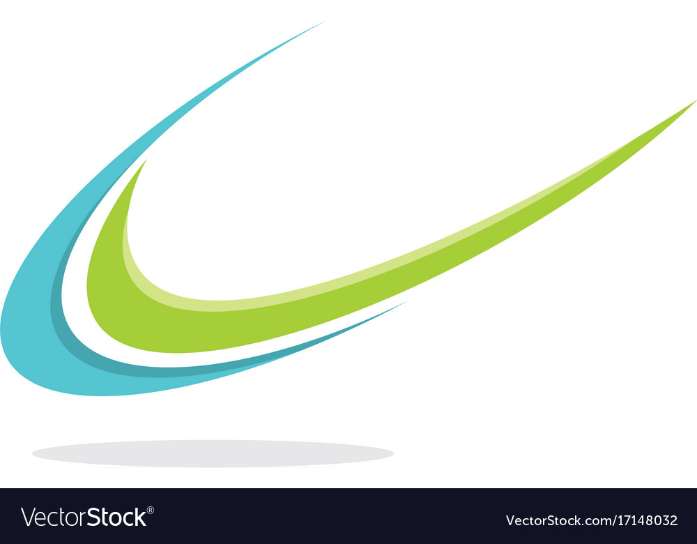Swoosh unique logo