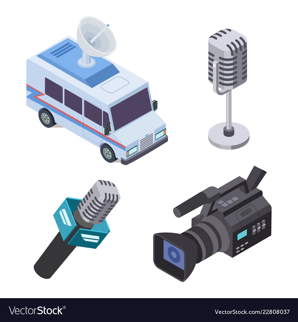 Broadcasting equipment television stream