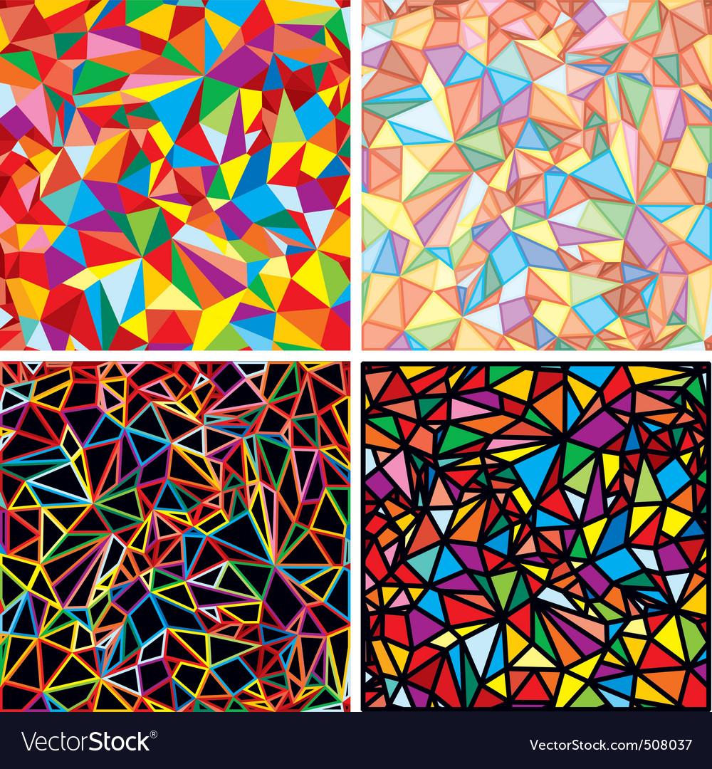 mosaic abstraction royalty free vector image vectorstock