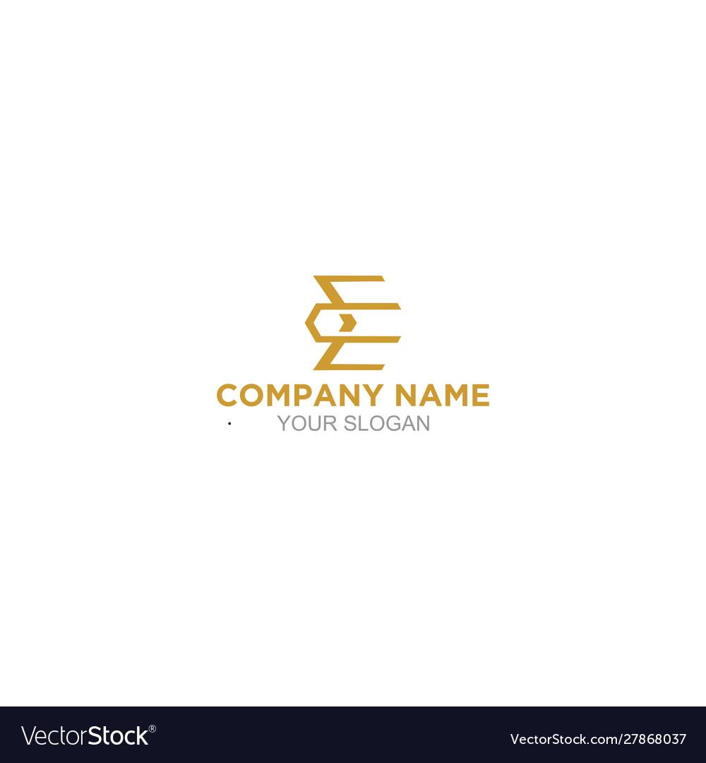 Simple ec logo design