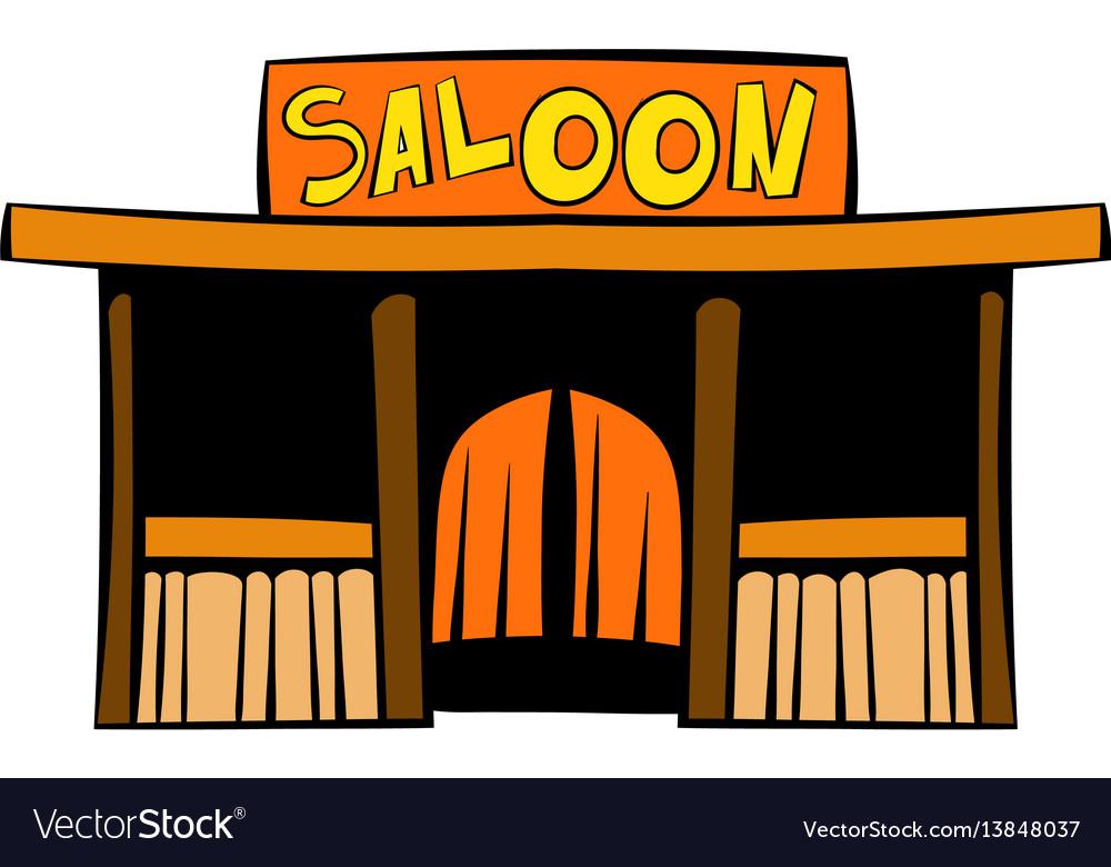 Western saloon icon icon cartoon