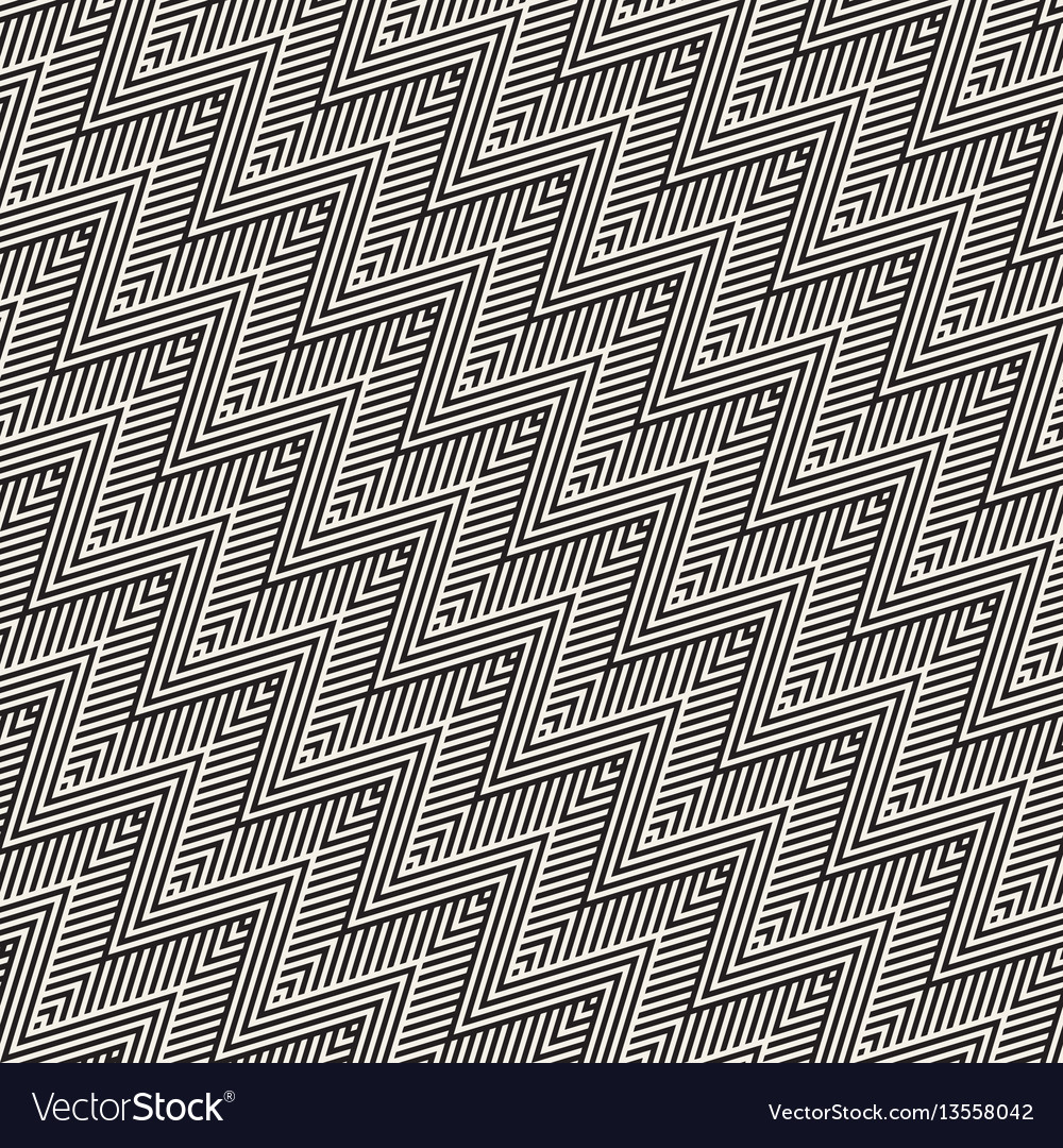 Abstract zigzag parallel stripes seamless