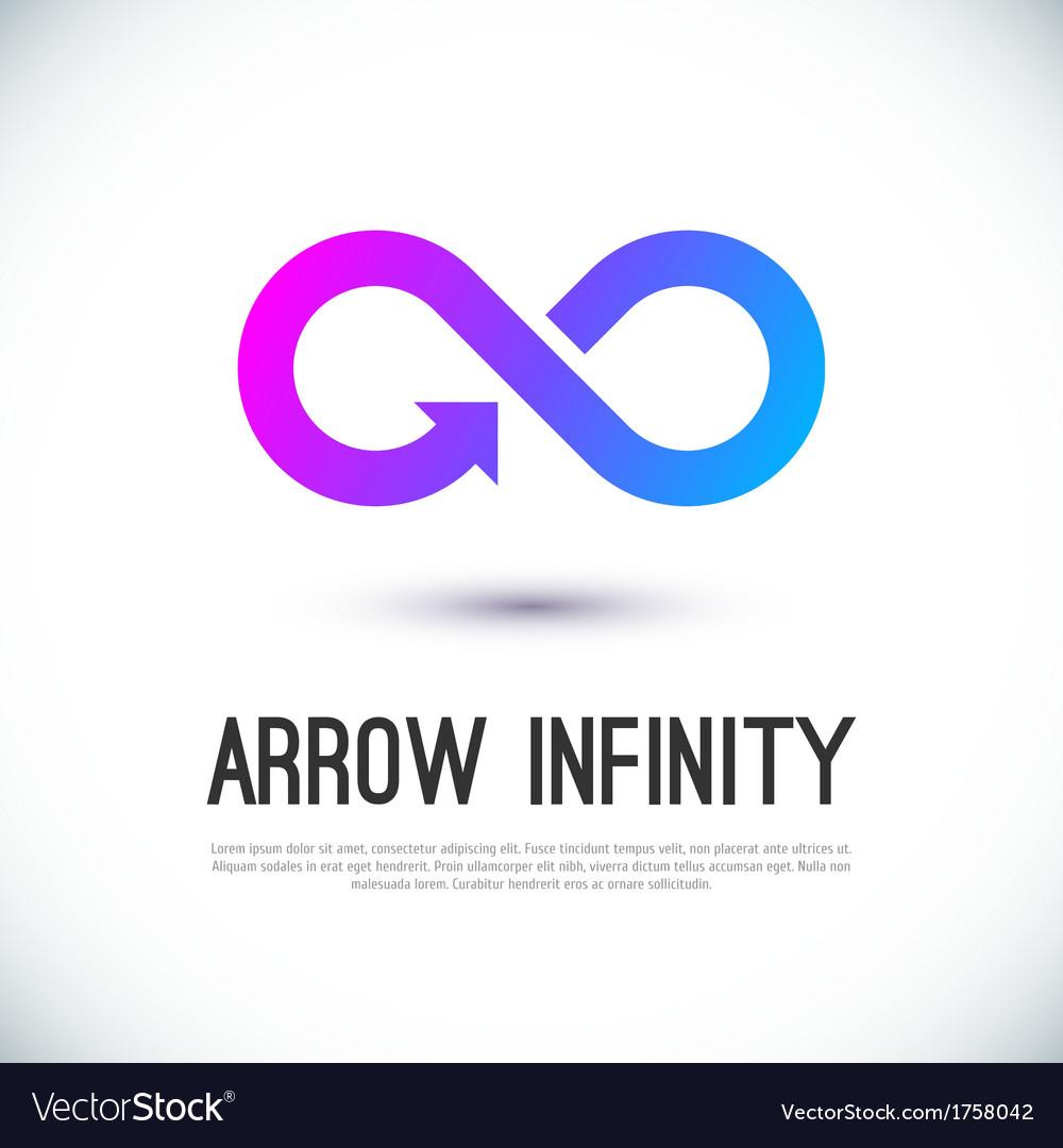 Arrow infinity business logo