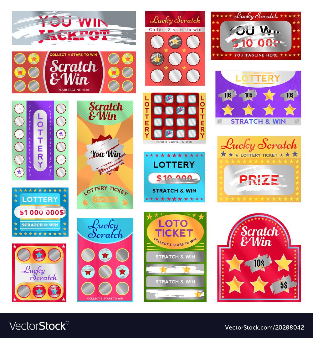 Free Scratch Cards >> Scratch Card Set