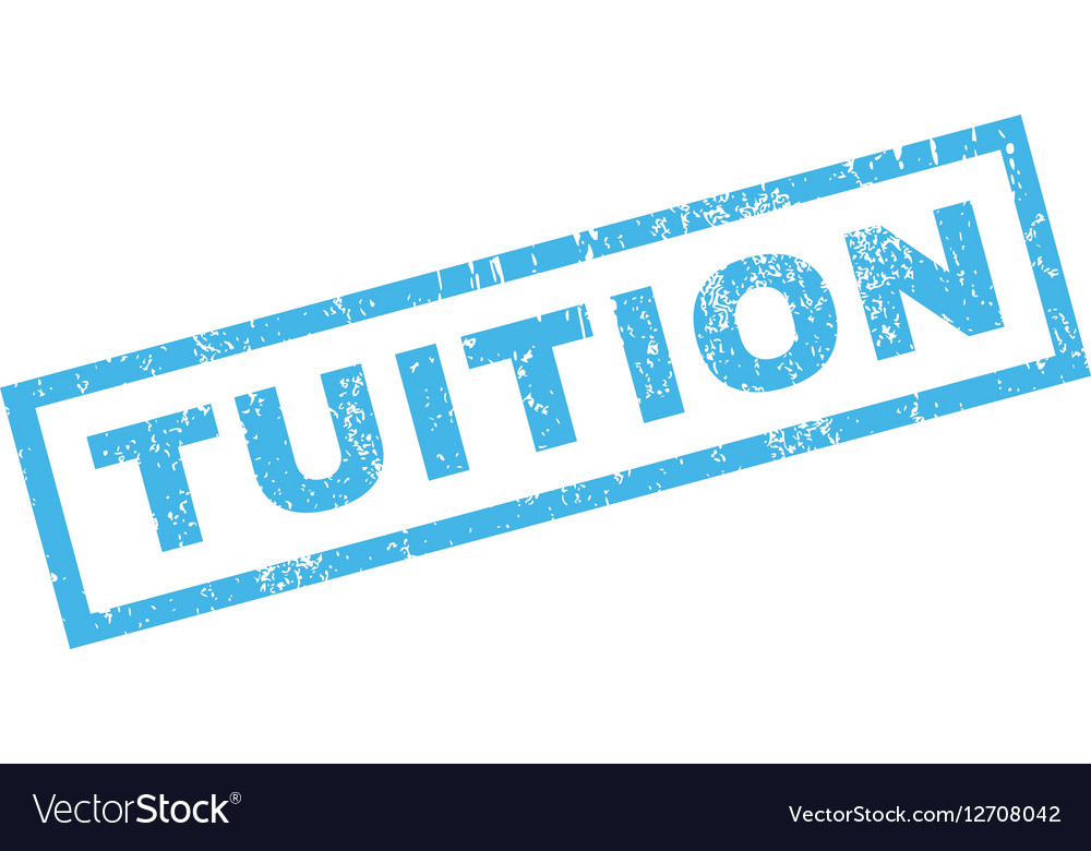 Tuition Rubber Stamp