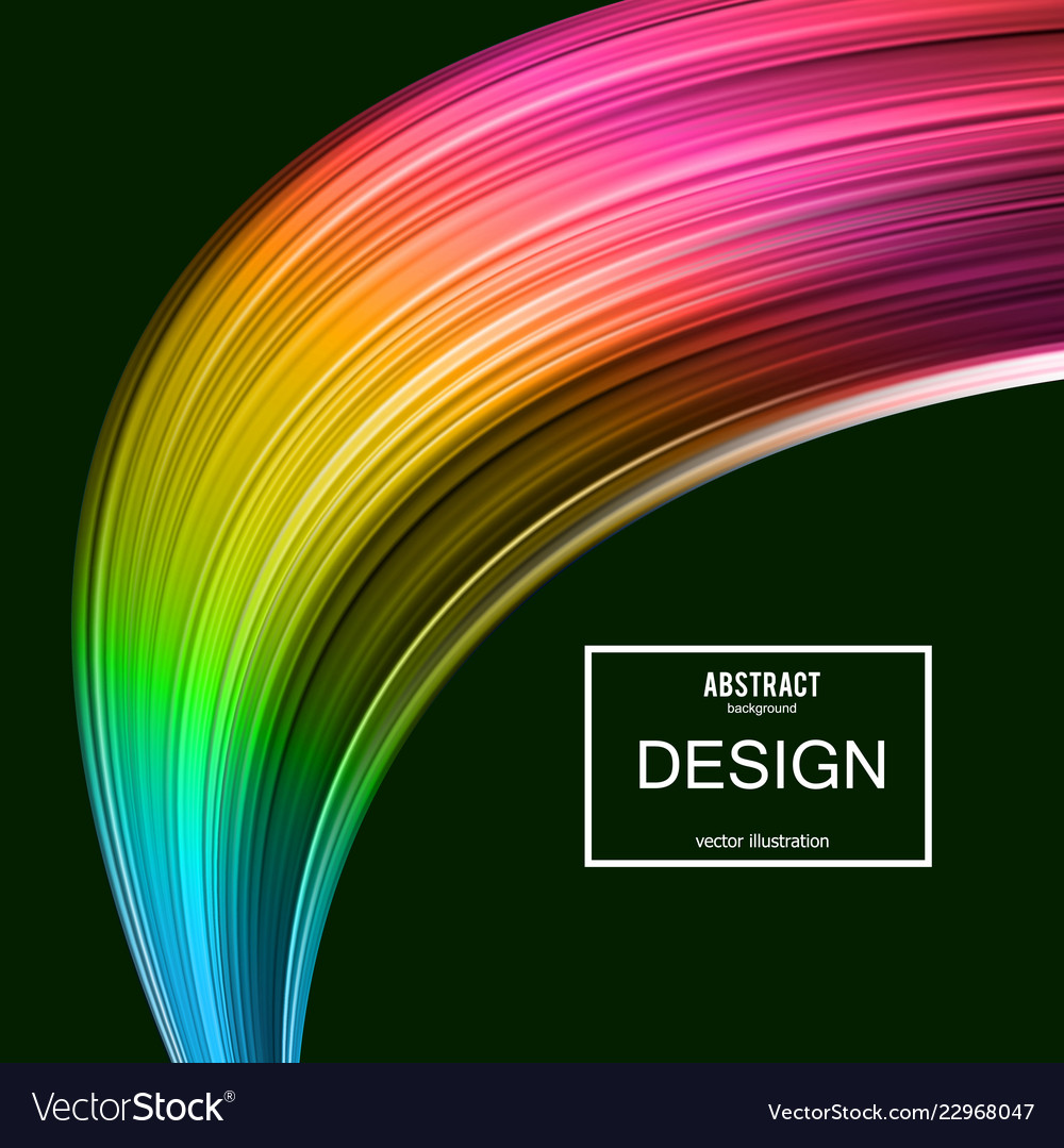 Abstract background rainbow curve image