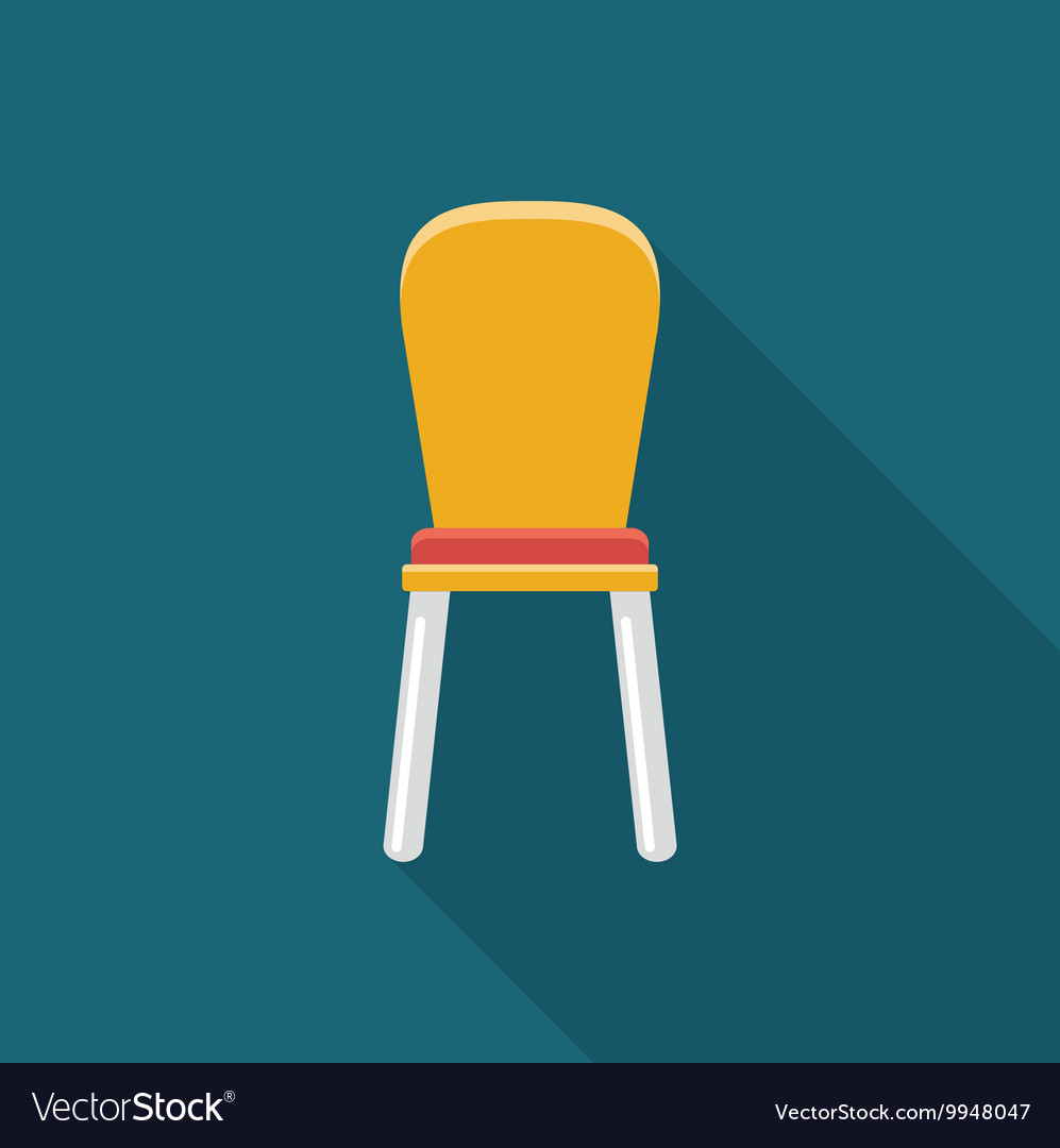 Chair Simple flat icon