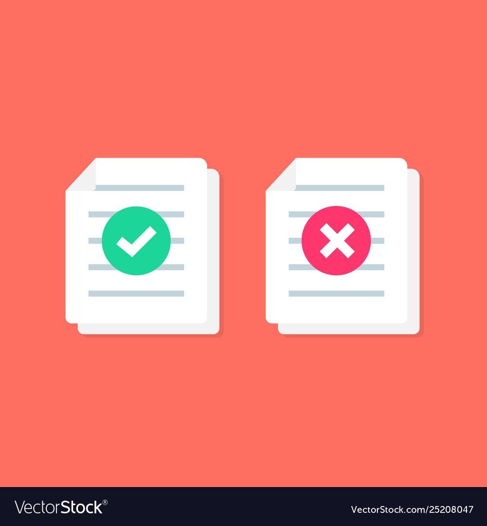 Document or paper icon with check mark