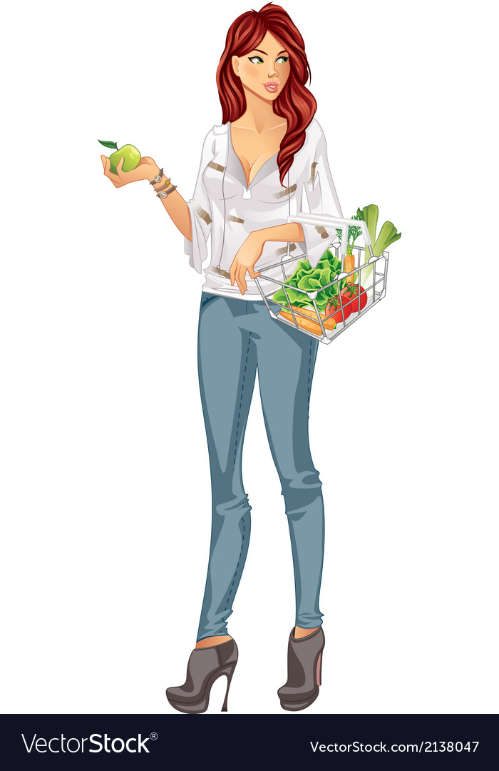 Grocery vector image