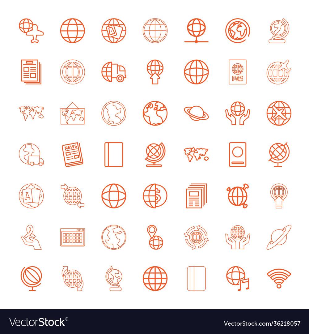 49 world icons
