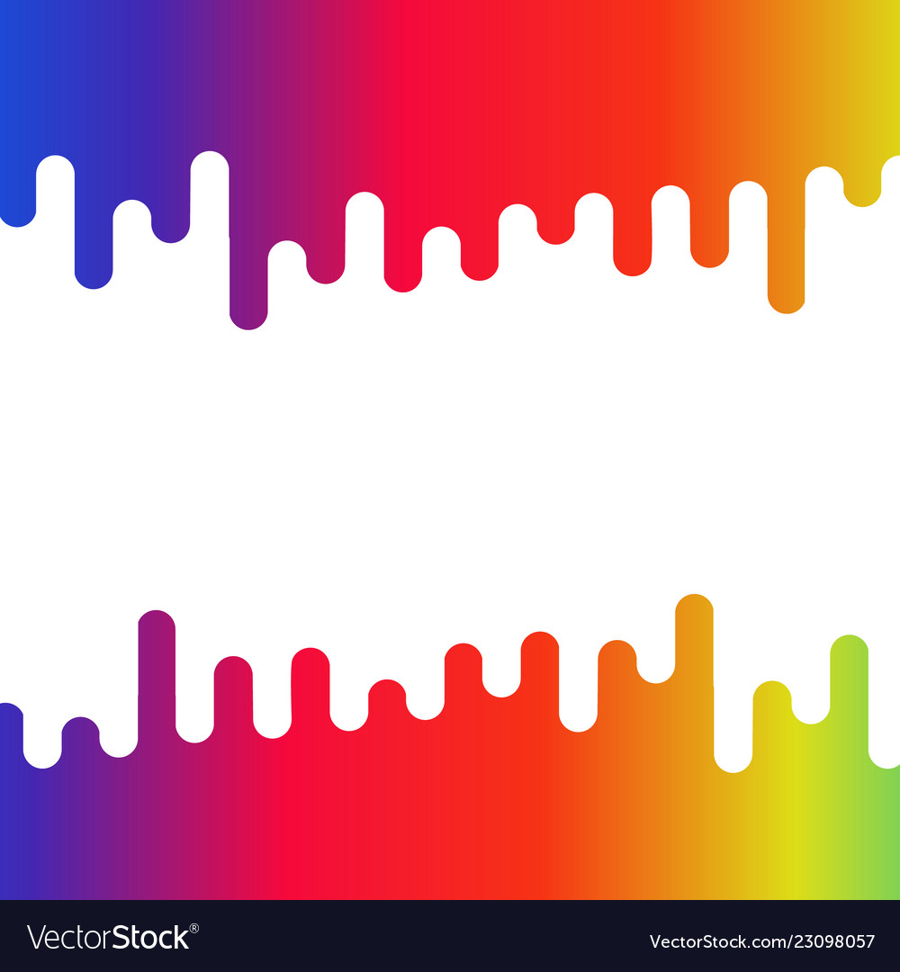 Abstract colorful liquid curvy shape for text and