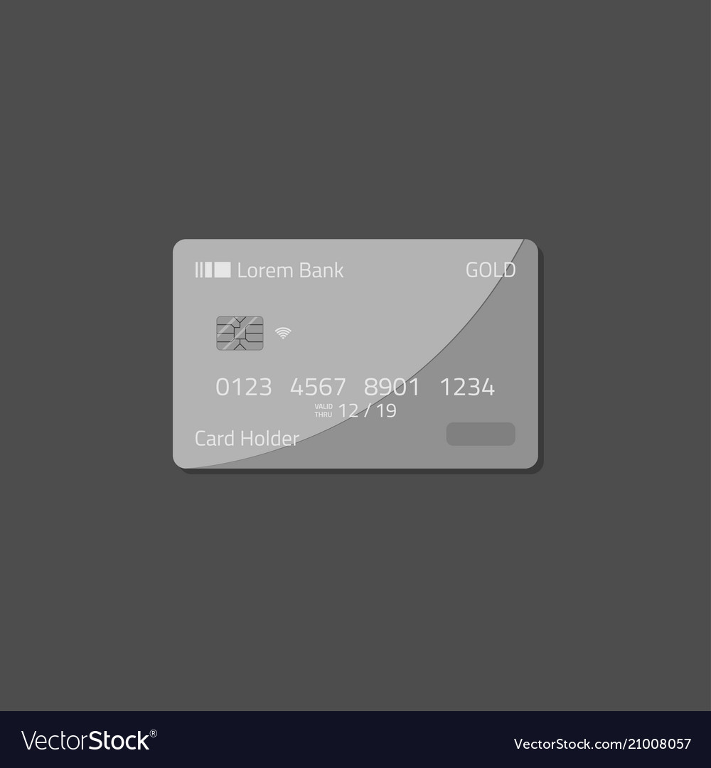 Bank deposit credit card