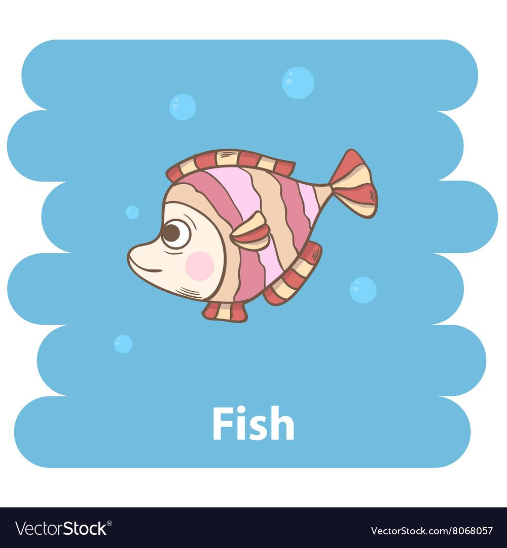 Cute cartooon Fish