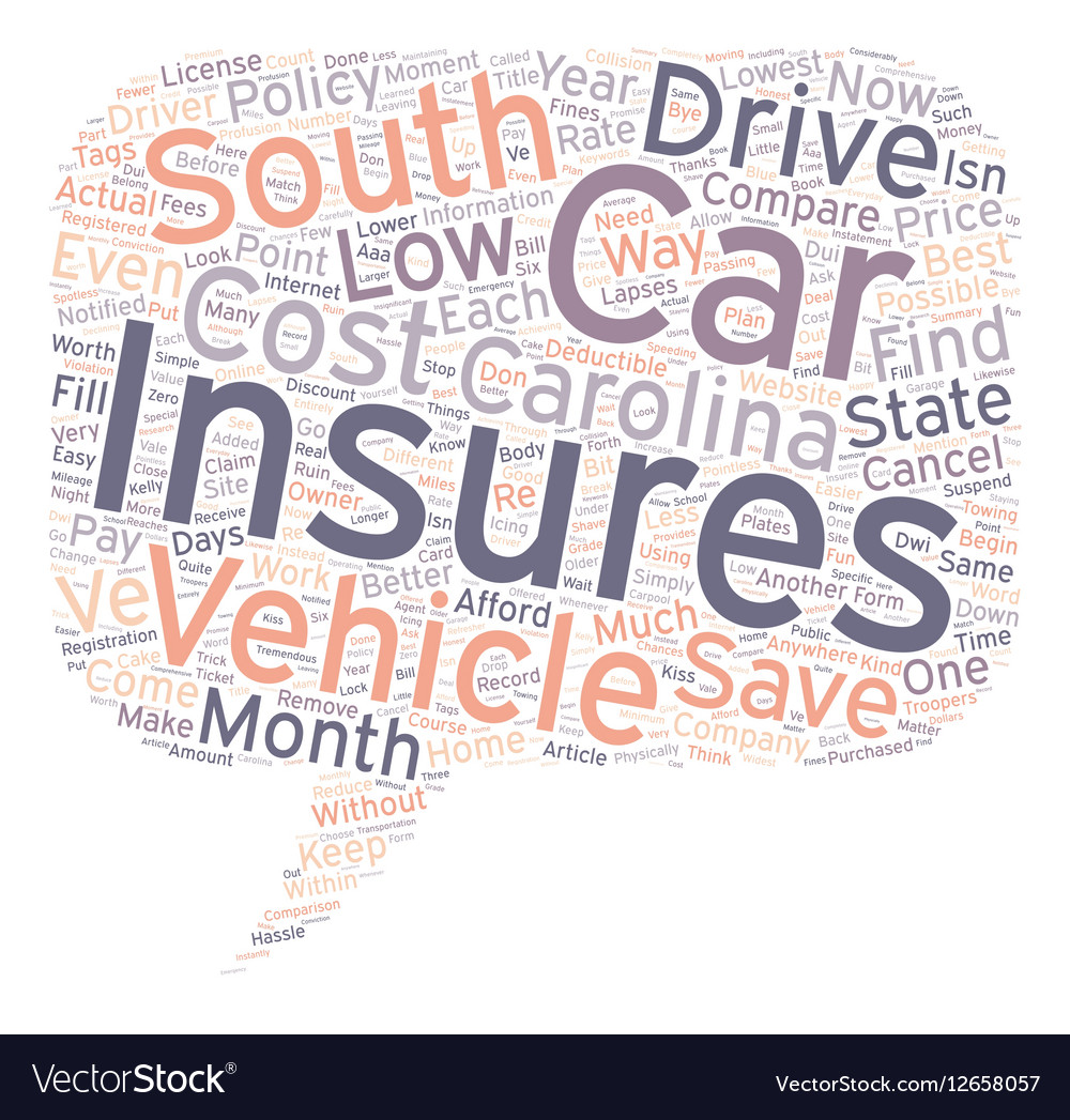 How To Compare Low Cost Car Insurance In South