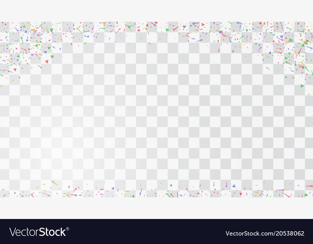 Abstract colorful flying confetti background