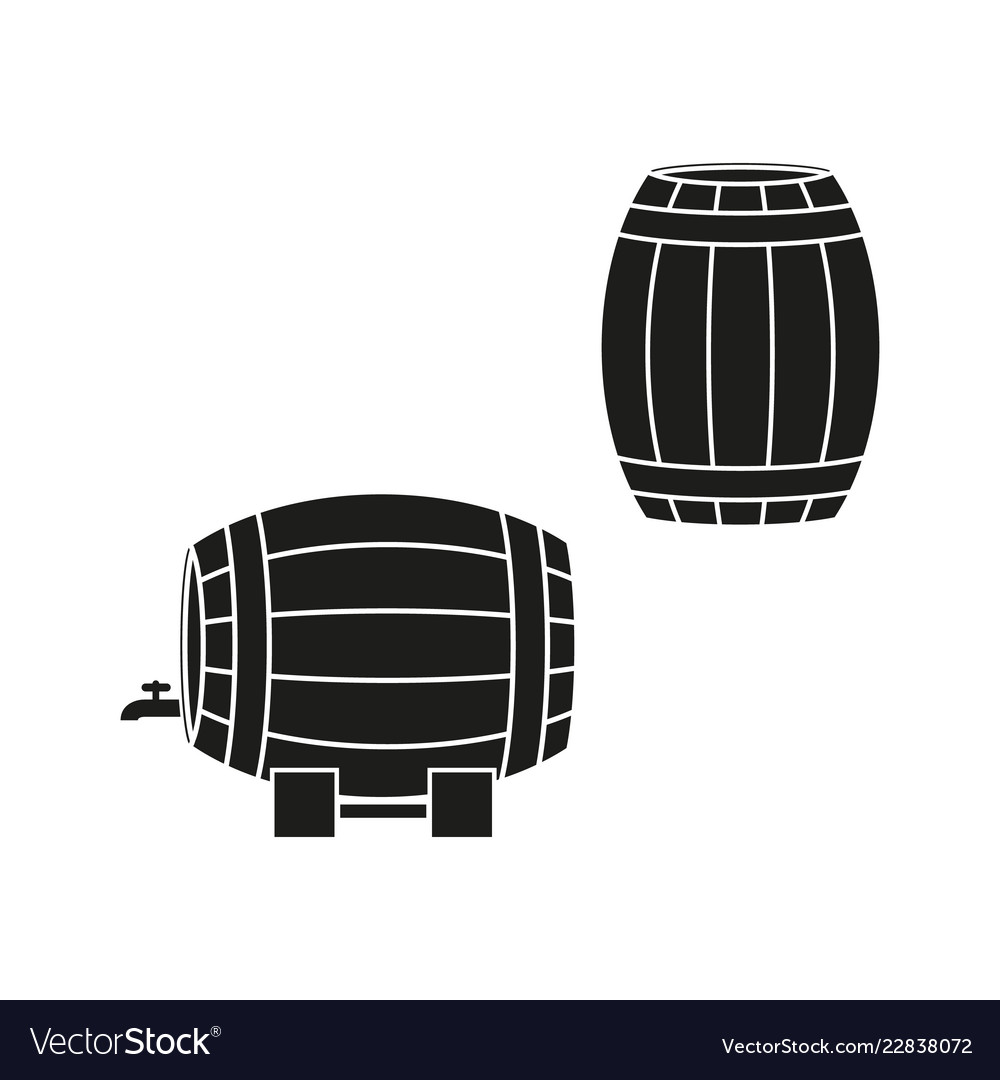 A barrels of wine or beer icons