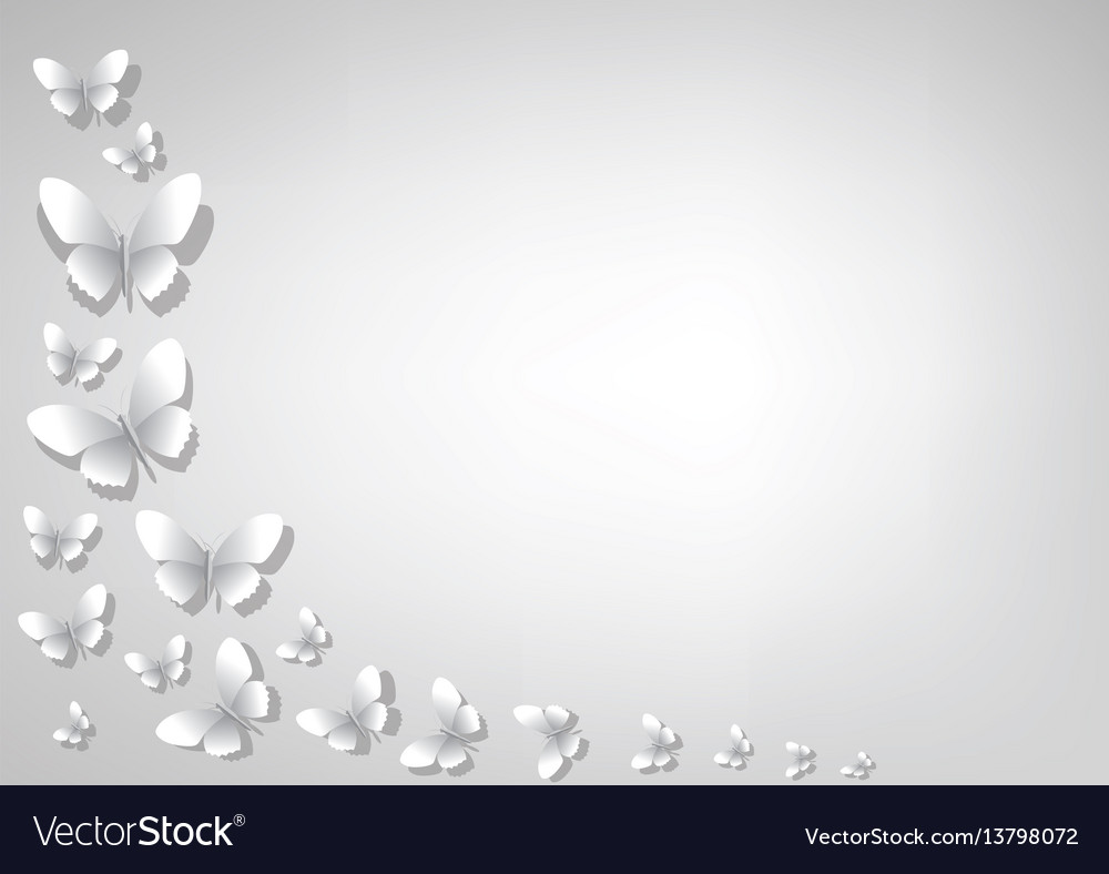 Abstract light gray background with white paper