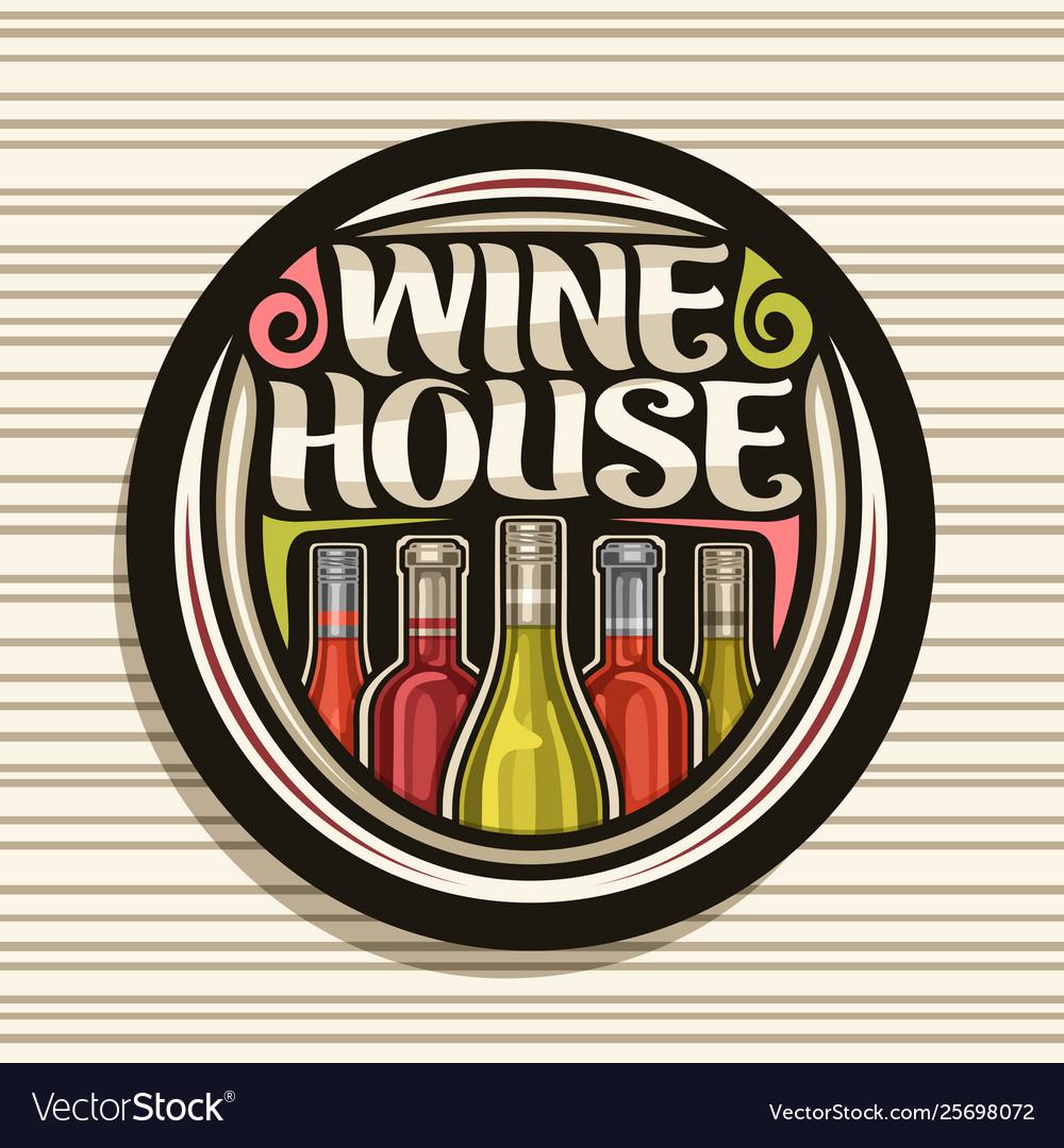 Logo for wine house