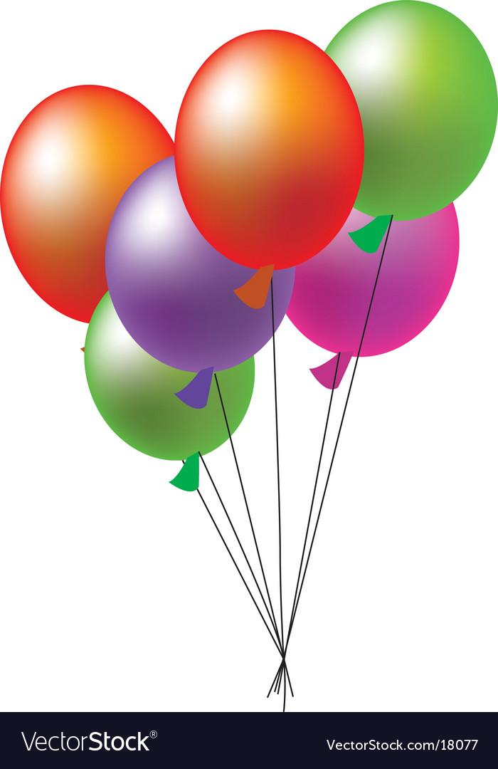Ballon Royalty Free Vector Image Vectorstock