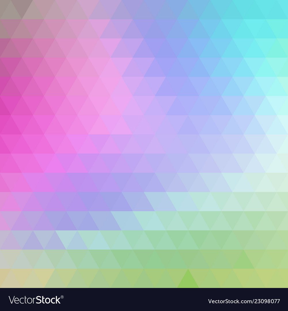 Gradient blue color and triangle polygon pattern