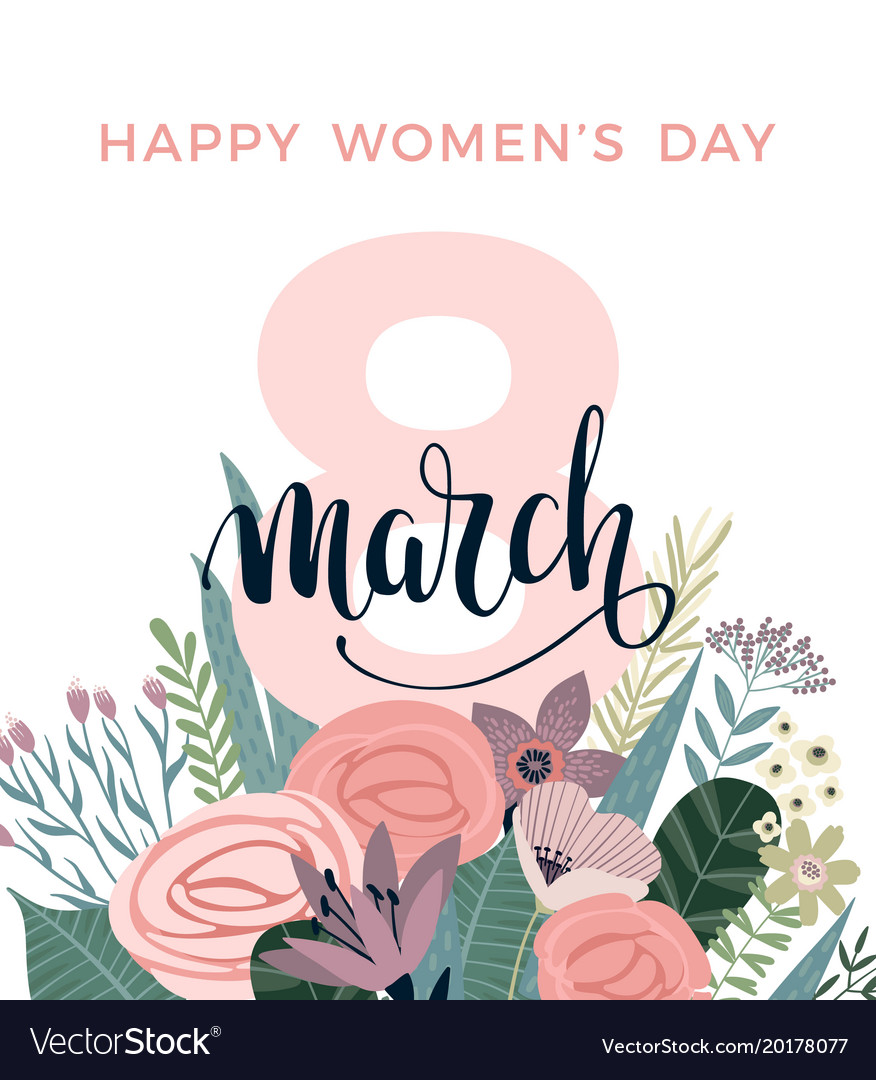 International women s day template