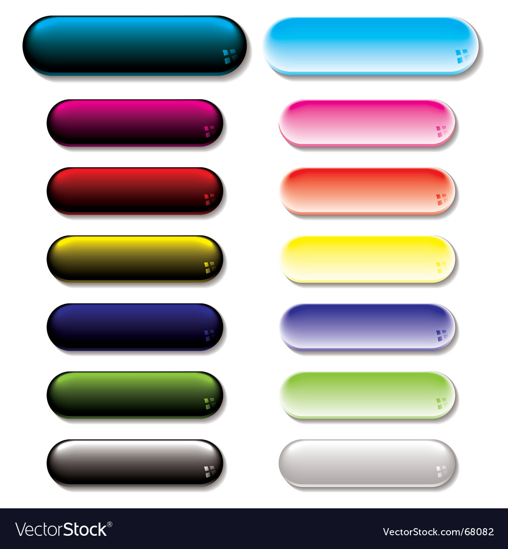 Gel glow buttons