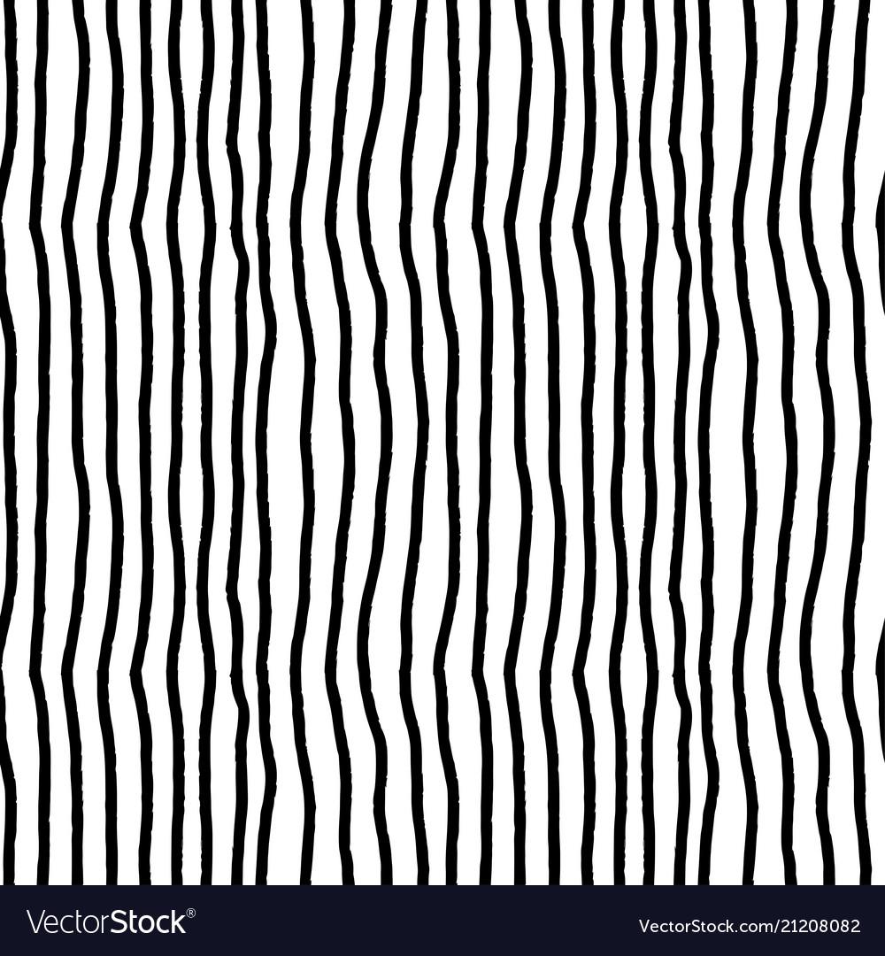 361585d4bf6 Grunge black stripe brush pattern vintage seamless vector image