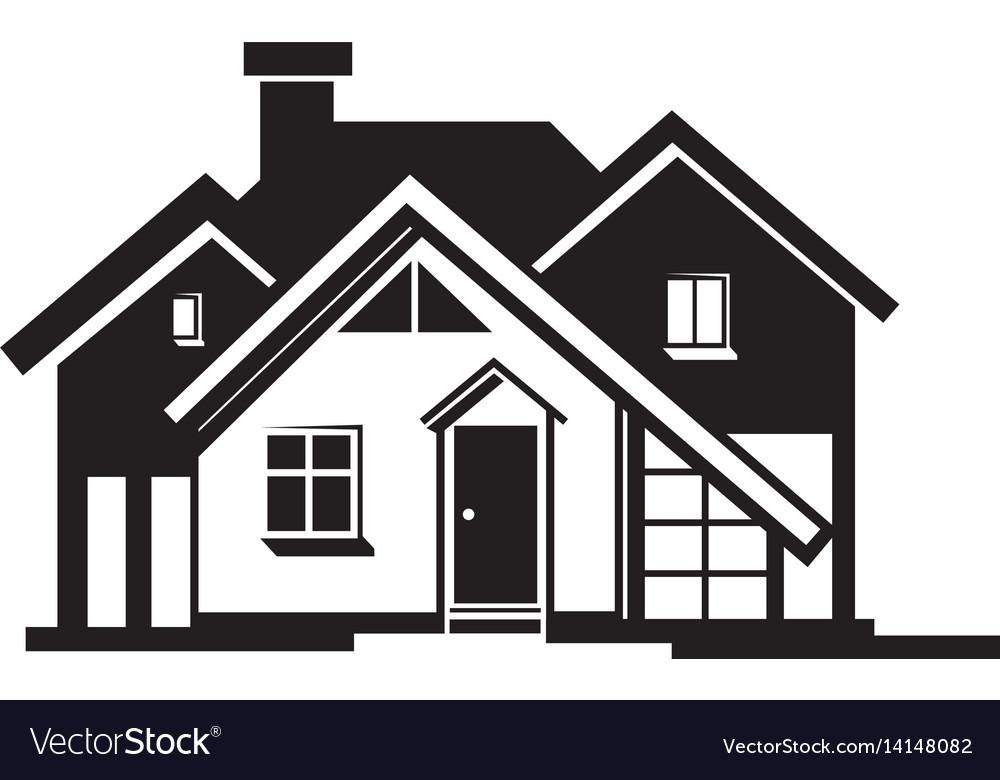 House black icon