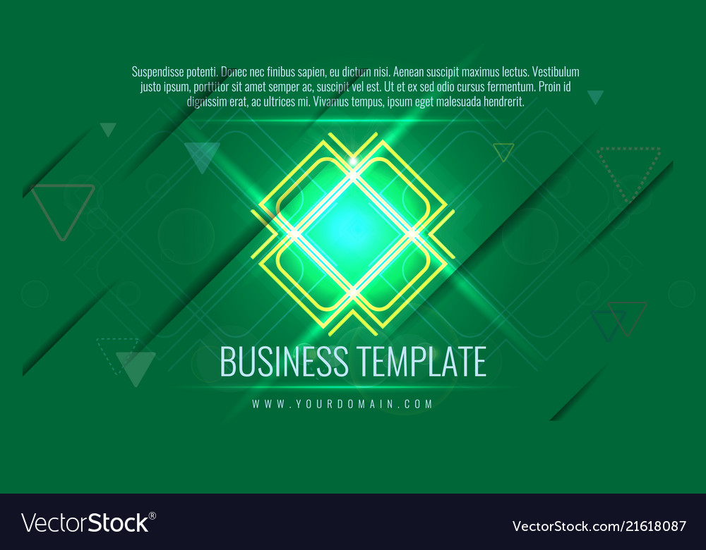 Business cover template also available for