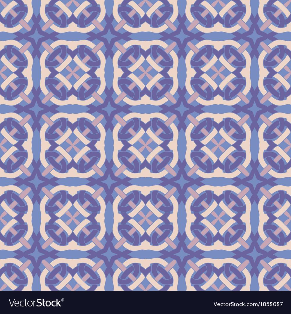 Ethnic modern geometric seamless pattern vector image