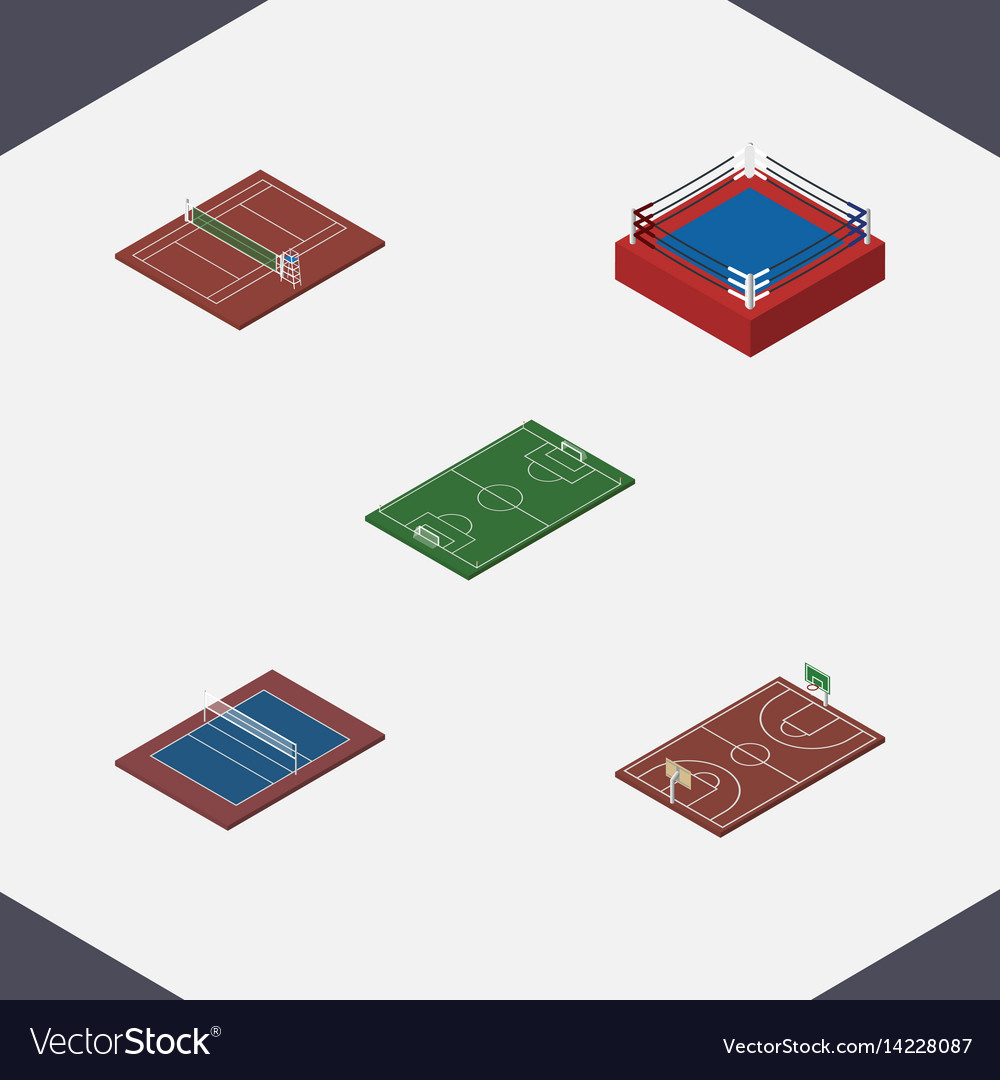 Isometric competition set of b-ball soccer