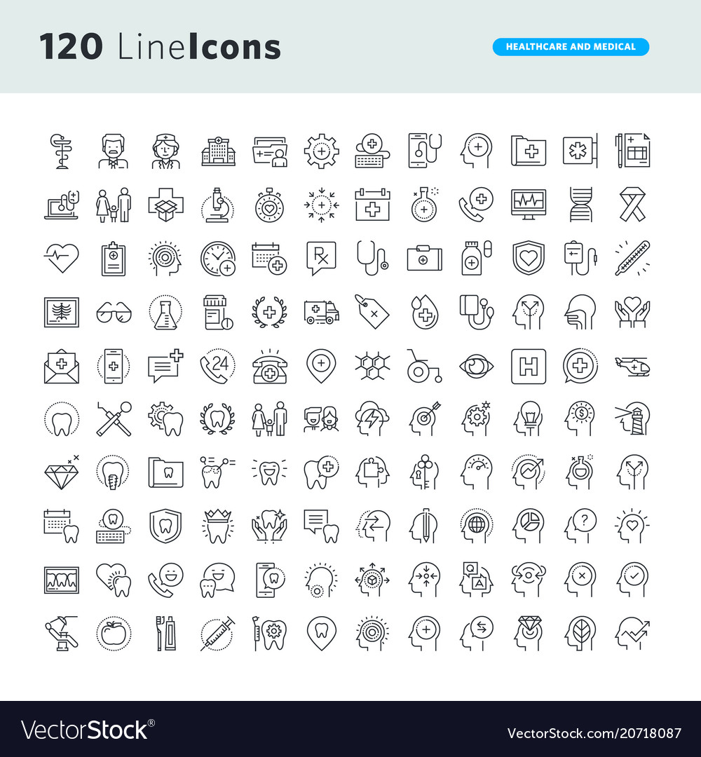 Set of premium concept icons