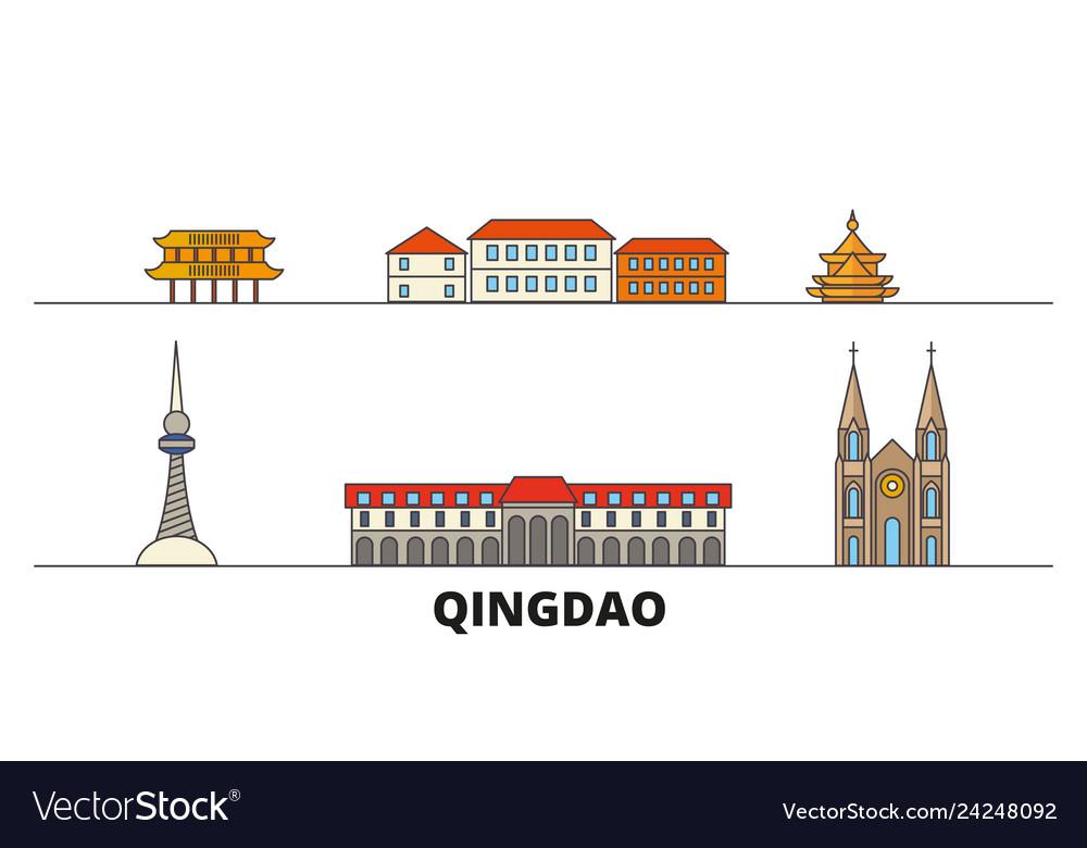 China qingdao flat landmarks
