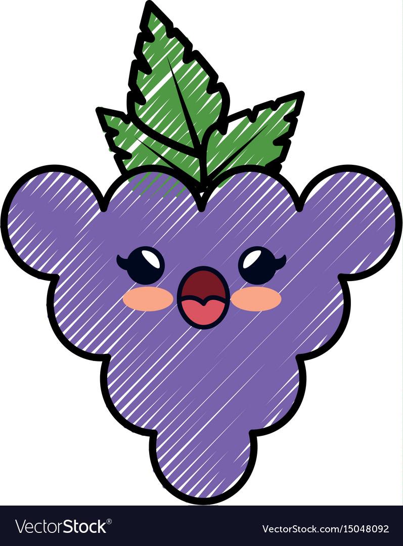 grape cartoon smiley royalty free vector image rh vectorstock com cartoon graphics cartoon great white shark