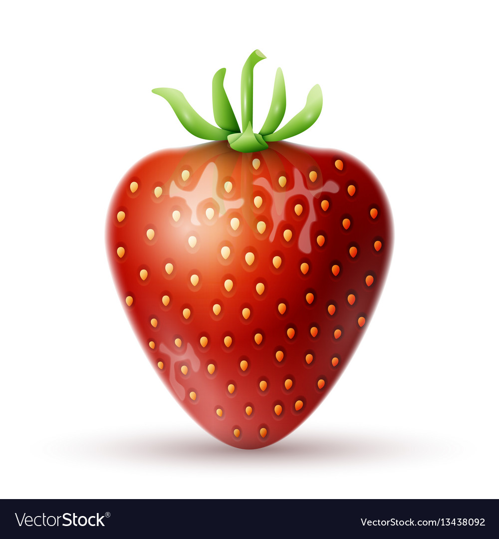 Red strawberry icon