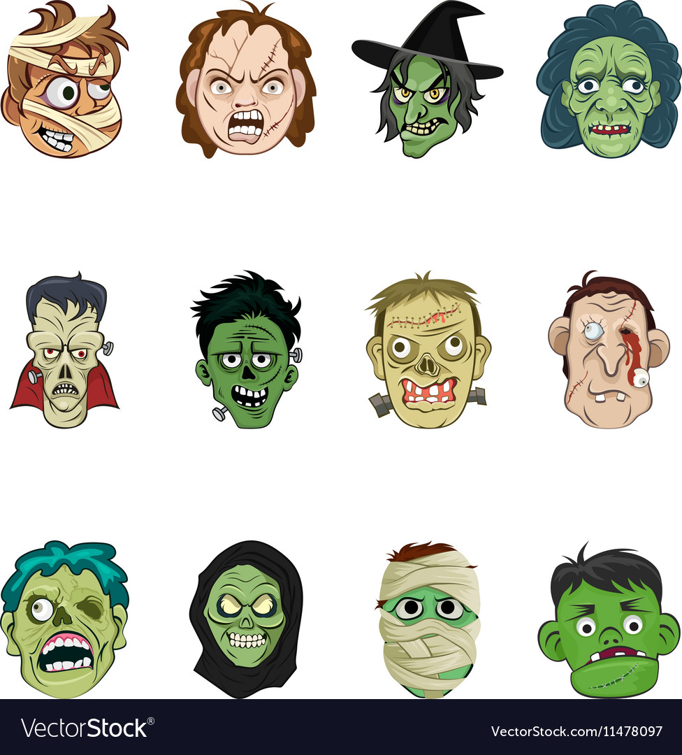 Halloween 1 vector image