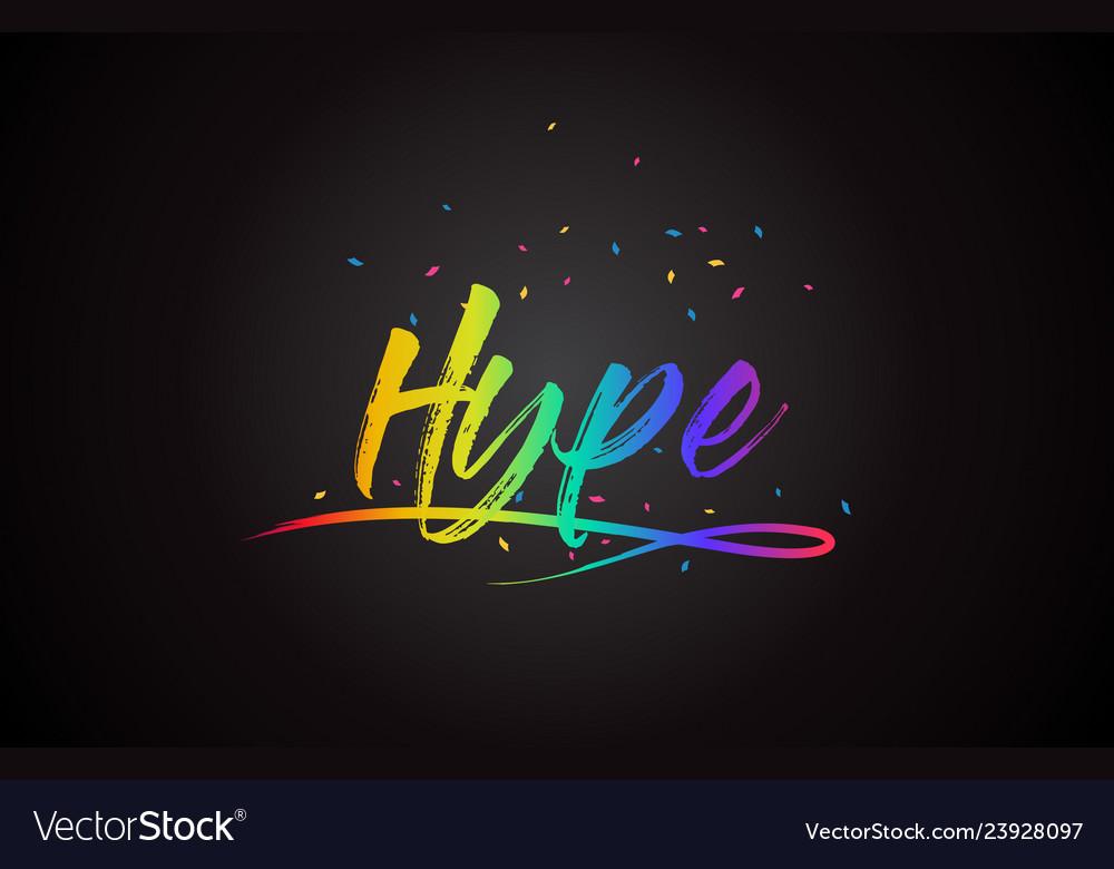 hype-word-text-with-handwritten-rainbow-