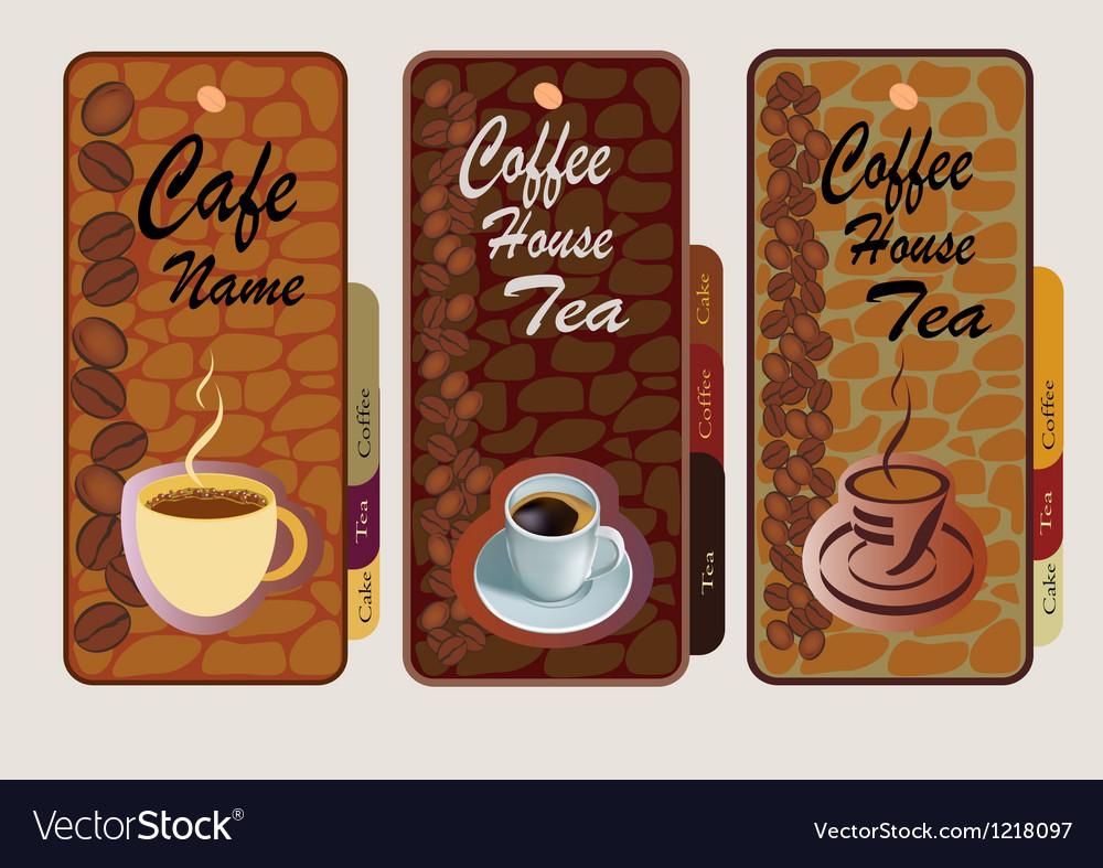 1809 Menu menu for restaurant cafe bar coffeehouse