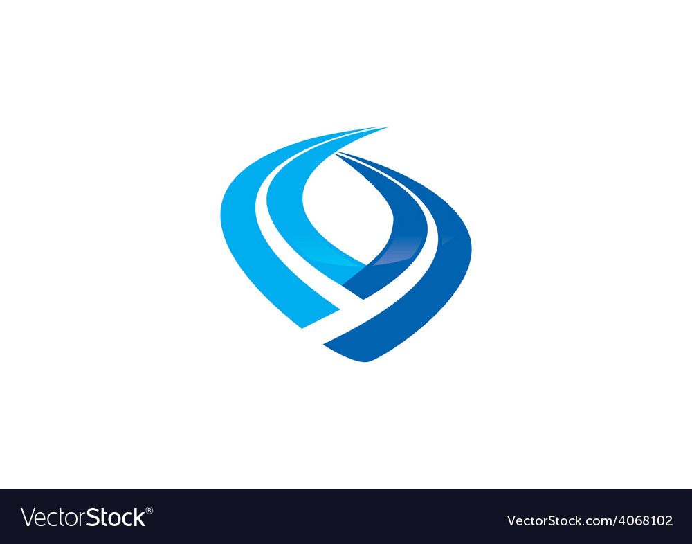 Finance stripe business logo